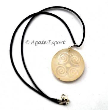 Rose Celtic Symbol Reiki Pendants Engraved Pendants