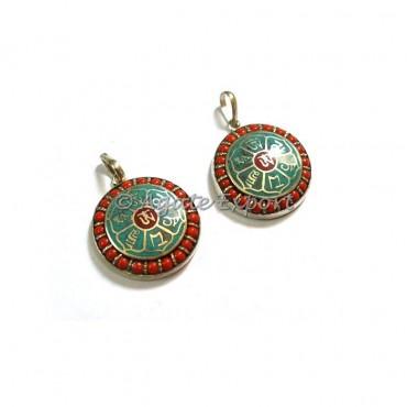 Tibetan Six Words Mantras Amulet Prayer Pendants Wholesale